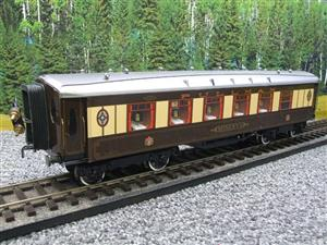 "Darstaed O Gauge Parlour 1st ""Minerva"" Grey Roof Pullman Coach Boxed image 4"