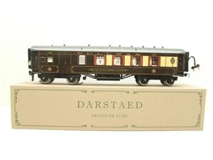 "Darstaed O Gauge Parlour Brake 3rd ""Car No 65"" Grey Roof Pullman Coach image 1"