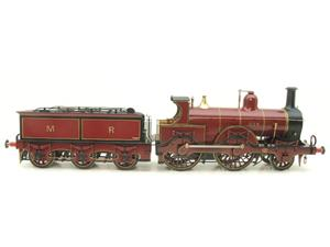 Gauge 1 Brass Fine Scale Victorian Connection MR Kirtley 2-4-0 Loco & Tender R/N 814 Electric 2 Rail image 1