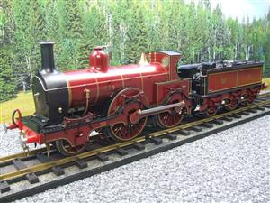 Gauge 1 Brass Fine Scale Victorian Connection MR Kirtley 2-4-0 Loco & Tender R/N 814 Electric 2 Rail image 4