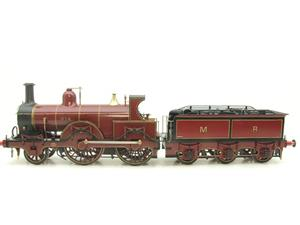 Gauge 1 Brass Fine Scale Victorian Connection MR Kirtley 2-4-0 Loco & Tender R/N 814 Electric 2 Rail image 5