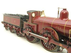 Gauge 1 Brass Fine Scale Victorian Connection MR Kirtley 2-4-0 Loco & Tender R/N 814 Electric 2 Rail image 8