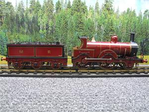 Gauge 1 Brass Fine Scale Victorian Connection MR Kirtley 2-4-0 Loco & Tender R/N 814 Electric 2 Rail image 9