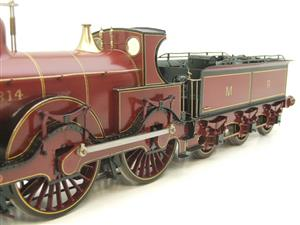 Gauge 1 Brass Fine Scale Victorian Connection MR Kirtley 2-4-0 Loco & Tender R/N 814 Electric 2 Rail image 10