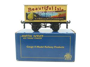 "Ace Trains Horton Series O Gauge Private Owner ""Beautiful Isle Pears"" Van Grey Roof Boxed image 1"
