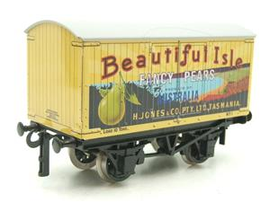"Ace Trains Horton Series O Gauge Private Owner ""Beautiful Isle Pears"" Van Grey Roof Boxed image 4"