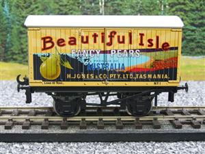 "Ace Trains Horton Series O Gauge Private Owner ""Beautiful Isle Pears"" Van Grey Roof Boxed image 5"
