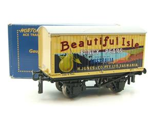 "Ace Trains Horton Series O Gauge Private Owner ""Beautiful Isle Pears"" Van Grey Roof Boxed image 10"