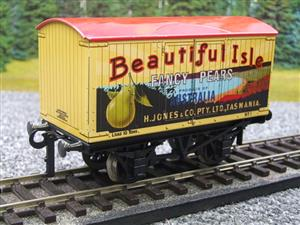 "Ace Trains Horton Series O Gauge Private Owner ""Beautiful Isle Pears"" Van Red Roof Boxed image 4"
