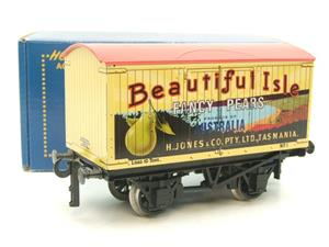 "Ace Trains Horton Series O Gauge Private Owner ""Beautiful Isle Pears"" Van Red Roof Boxed image 10"