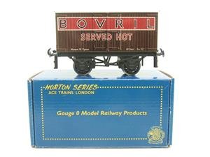"Ace Trains Horton Series O Gauge Private Owner ""Bovril"" Van Boxed image 1"
