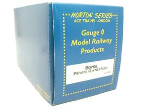 "Ace Trains Horton Series O Gauge Private Owner ""Bovril"" Van Boxed image 7"