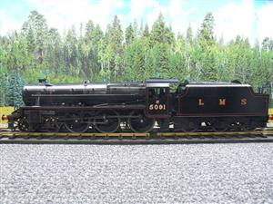 "Gauge 1 Accucraft LMS ""Black Five"" 4-6-0 Loco & Tender R/N 5091 Electric/Battery 2 Rail Fine Scale image 9"