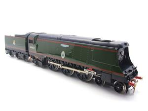 "Ace Trains O Gauge E9 Bulleid Pacific BR Green ""Tangmere"" R/N 34067 Bxd Elec 2/3 Rail image 2"