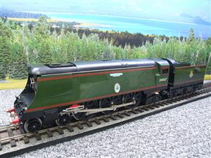 "Ace Trains O Gauge E9 Bulleid Pacific BR Green ""Tangmere"" R/N 34067 Bxd Elec 2/3 Rail image 3"