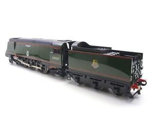 "Ace Trains O Gauge E9 Bulleid Pacific BR Green ""Tangmere"" R/N 34067 Bxd Elec 2/3 Rail image 4"