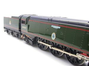 "Ace Trains O Gauge E9 Bulleid Pacific BR Green ""Tangmere"" R/N 34067 Bxd Elec 2/3 Rail image 5"