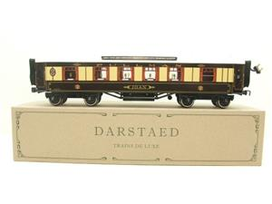 "Darstaed O Gauge Kitchen 1st ""Joan"" Ivory Roof Pullman Coach Lit Interior 2/3 Rail Boxed image 1"