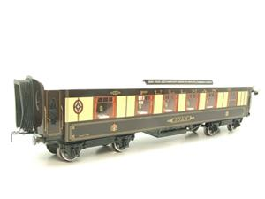 "Darstaed O Gauge Kitchen 1st ""Joan"" Ivory Roof Pullman Coach Lit Interior 2/3 Rail Boxed image 3"