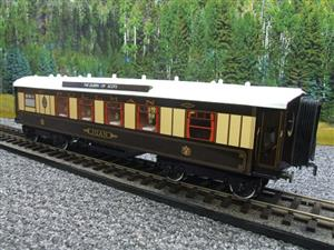 "Darstaed O Gauge Kitchen 1st ""Joan"" Ivory Roof Pullman Coach Lit Interior 2/3 Rail Boxed image 4"