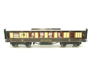 "Darstaed O Gauge Kitchen 1st ""Joan"" Ivory Roof Pullman Coach Lit Interior 2/3 Rail Boxed image 5"