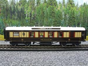 "Darstaed O Gauge Kitchen 1st ""Joan"" Ivory Roof Pullman Coach Lit Interior 2/3 Rail Boxed image 8"