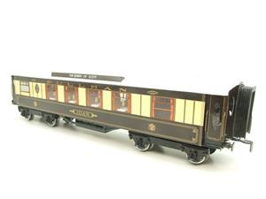 "Darstaed O Gauge Kitchen 1st ""Joan"" Ivory Roof Pullman Coach Lit Interior 2/3 Rail Boxed image 10"