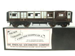 "Gauge 1 Brass The Finescale Locomotive Company WCJS ""TPO"" Coach RN 339 W/Net Apparatus Bxd image 1"