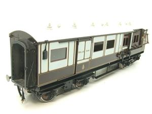 "Gauge 1 Brass The Finescale Locomotive Company WCJS ""TPO"" Coach RN 339 W/Net Apparatus Bxd image 2"