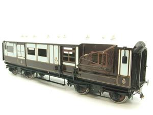 "Gauge 1 Brass The Finescale Locomotive Company WCJS ""TPO"" Coach RN 339 W/Net Apparatus Bxd image 3"