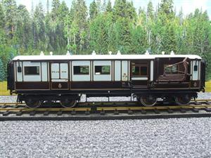 "Gauge 1 Brass The Finescale Locomotive Company WCJS ""TPO"" Coach RN 339 W/Net Apparatus Bxd image 5"