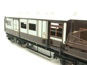 "Gauge 1 Brass The Finescale Locomotive Company WCJS ""TPO"" Coach RN 339 W/Net Apparatus Bxd image 9"