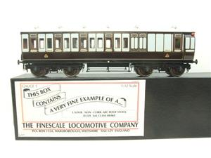 Gauge 1 Brass The Finescale Locomotive Company L&NWR Non Corridor 3rd Class Brake Coach R/N 6543 Bxd image 1
