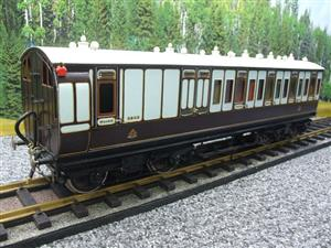 Gauge 1 Brass The Finescale Locomotive Company L&NWR Non Corridor 3rd Class Brake Coach R/N 6543 Bxd image 4