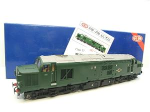 HelJan Ltd Ed Tower Models O Gauge 3702 Class 37 BR Green Railfreight Diesel Loco Un-Numbered image 1