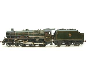 "O Gauge Solid Brass BR Jubilee 6P Class 4-6-0 ""Fearless"" R/N 45723 Electric 3 Rail image 1"