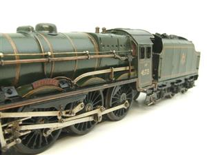 "O Gauge Solid Brass BR Jubilee 6P Class 4-6-0 ""Fearless"" R/N 45723 Electric 3 Rail image 9"