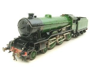 "O Gauge Solid Brass LNER B17/4 Class 4-6-0 ""Leicester City"" R/N 2865 Electric 3 Rail image 2"