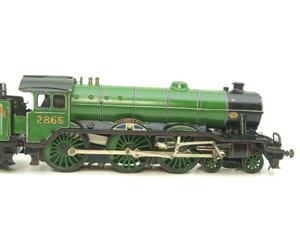 "O Gauge Solid Brass LNER B17/4 Class 4-6-0 ""Leicester City"" R/N 2865 Electric 3 Rail image 4"