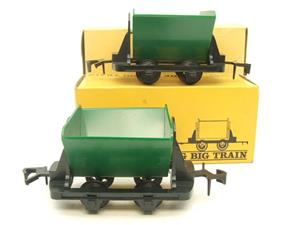 Big Train O Gauge RV 273 Side Tipping Wagons x2 Set Boxed image 1