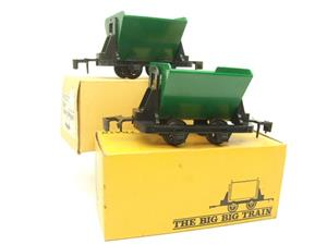 Big Train O Gauge RV 273 Side Tipping Wagons x2 Set Boxed image 10