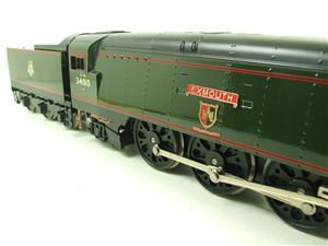 "Ace Trains O Gauge E9 Bulleid Pacific BR ""Exmouth"" R/N 34015 Electric 2/3 Rail Bxd image 6"