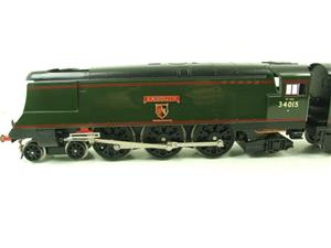 "Ace Trains O Gauge E9 Bulleid Pacific BR ""Exmouth"" R/N 34015 Electric 2/3 Rail Bxd image 7"