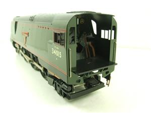 "Ace Trains O Gauge E9 Bulleid Pacific BR ""Exmouth"" R/N 34015 Electric 2/3 Rail Bxd image 10"