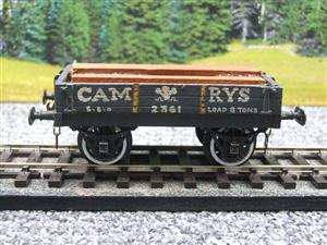 "O Gauge Low Sided ""Cam Rys"" Open Wagon R/N 2361 image 1"