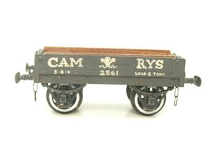 "O Gauge Low Sided ""Cam Rys"" Open Wagon R/N 2361 image 5"