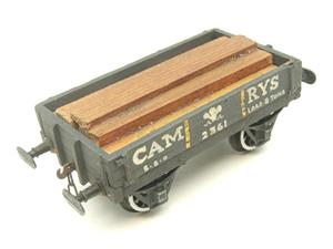 "O Gauge Low Sided ""Cam Rys"" Open Wagon R/N 2361 image 7"