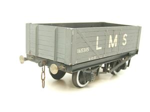 O Gauge Kit Scratch Built LMS Open coal Wagon R/N 165315 image 2