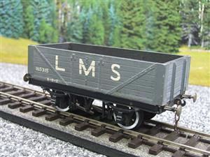 O Gauge Kit Scratch Built LMS Open coal Wagon R/N 165315 image 3