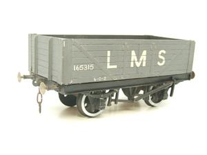 O Gauge Kit Scratch Built LMS Open coal Wagon R/N 165315 image 4